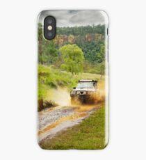 4x4 mudspray iPhone Case/Skin