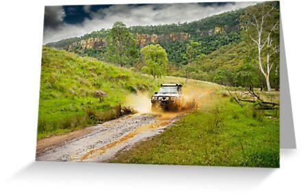 4x4 mudspray by Gillian Vann