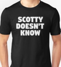 Scotty weiß es nicht - Eurotrip Slim Fit T-Shirt