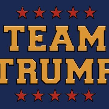Team Trump by greatagainmerch