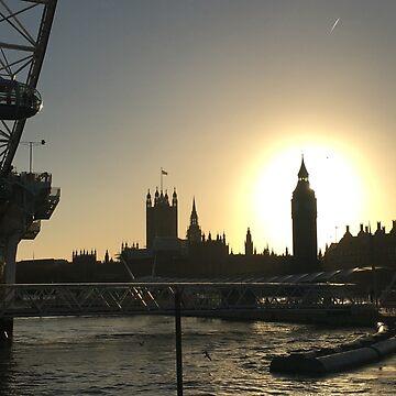 Big Ben Sunset by emimarie