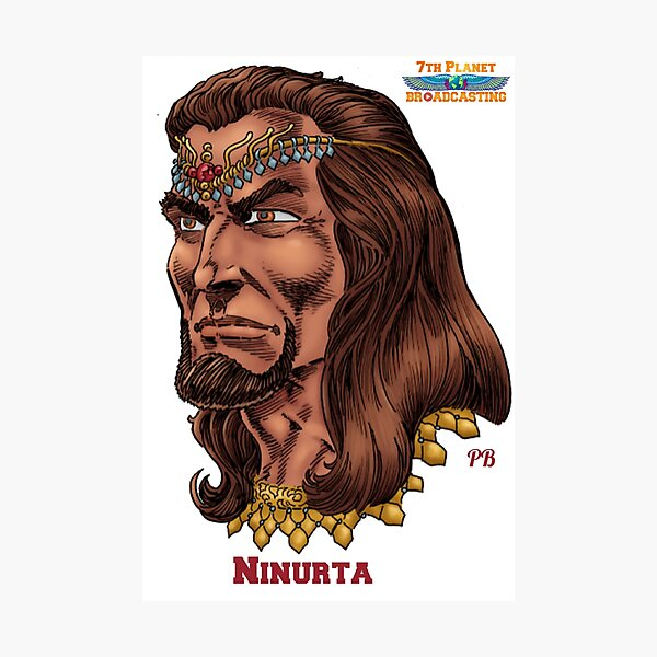 Ninurta Photographic Print