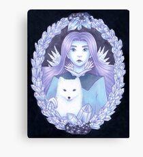 Ice Fantasy Canvas Print