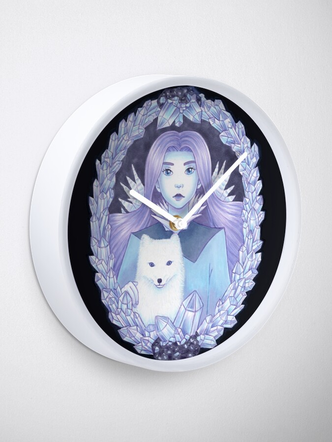 Alternative Ansicht von Eis-Fantasie Uhr