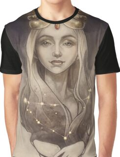 Zodiac Capricorn Graphic T-Shirt