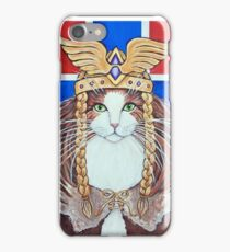 Freya, Goddess of Love & War Cat iPhone Case/Skin