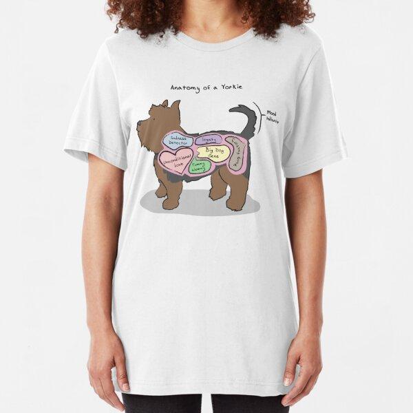 Anatomy of a Yorkie Slim Fit T-Shirt