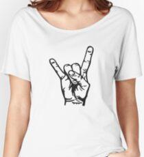 Devilhand - Pommesgabel Women's Relaxed Fit T-Shirt