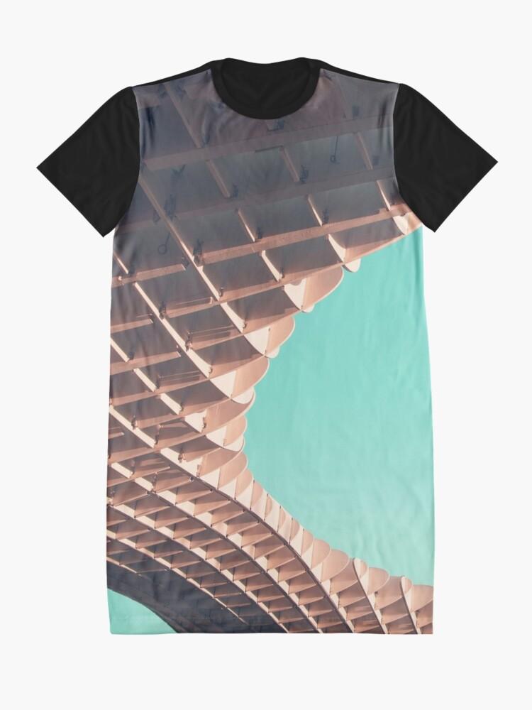 Alternative Ansicht von Waffel oder nicht? T-Shirt Kleid