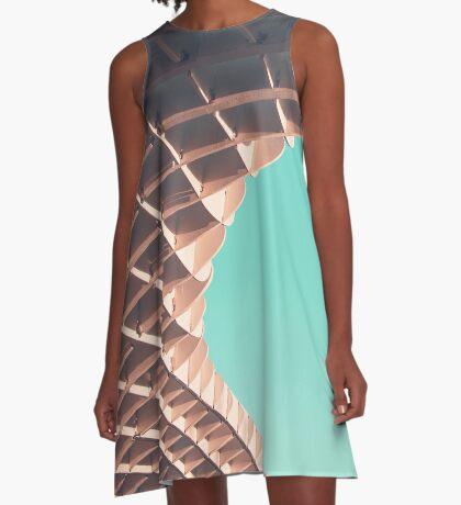 Waffel oder nicht? A-Linien Kleid