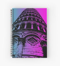 Leaning Tower of Pisa Artwork Spiral Notebook