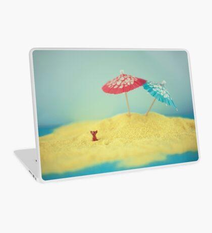 Hündchen-Insel Laptop Folie