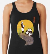 The Panda King Racerback Tank Top