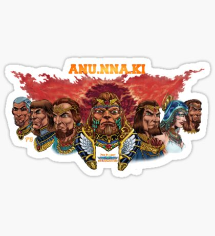 ANU.NNA.KI - Anunnaki of Nibiru Sticker