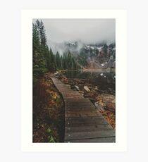 Lake Twentytwo, Washington Art Print