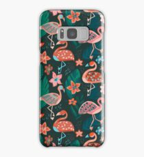 Flamingo Parade Samsung Galaxy Case/Skin