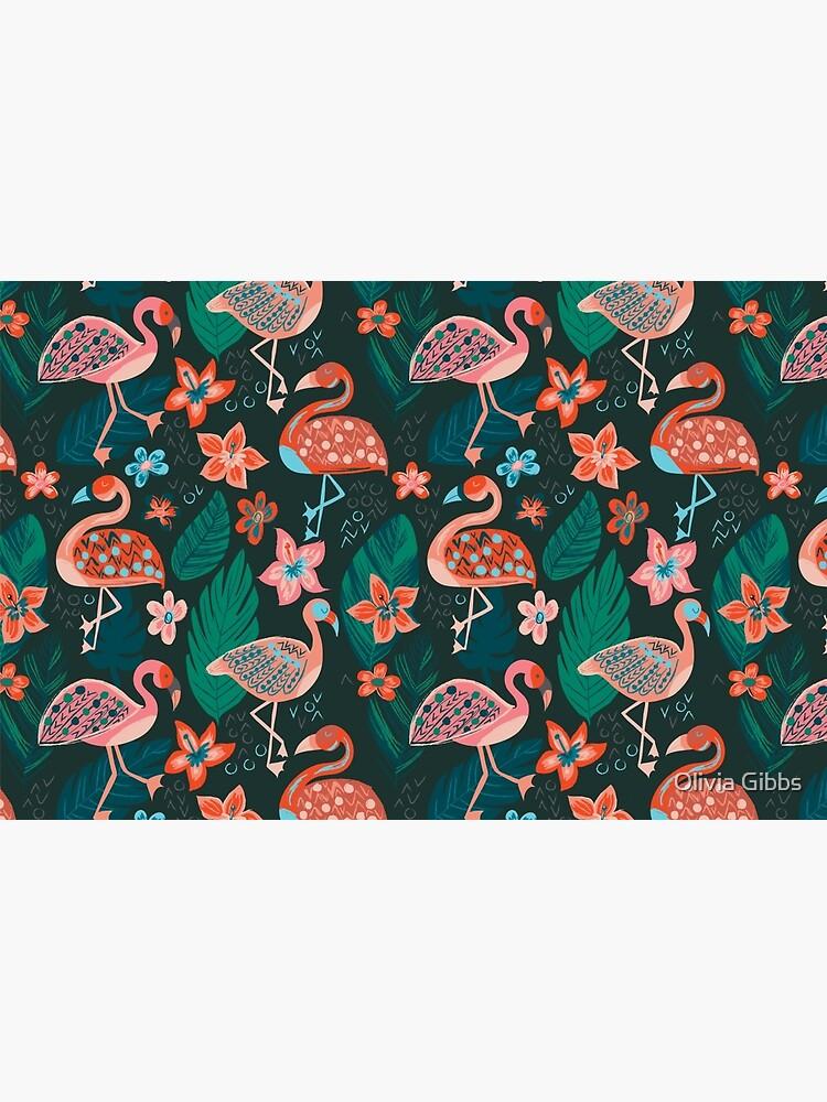 Flamingo Parade by olig