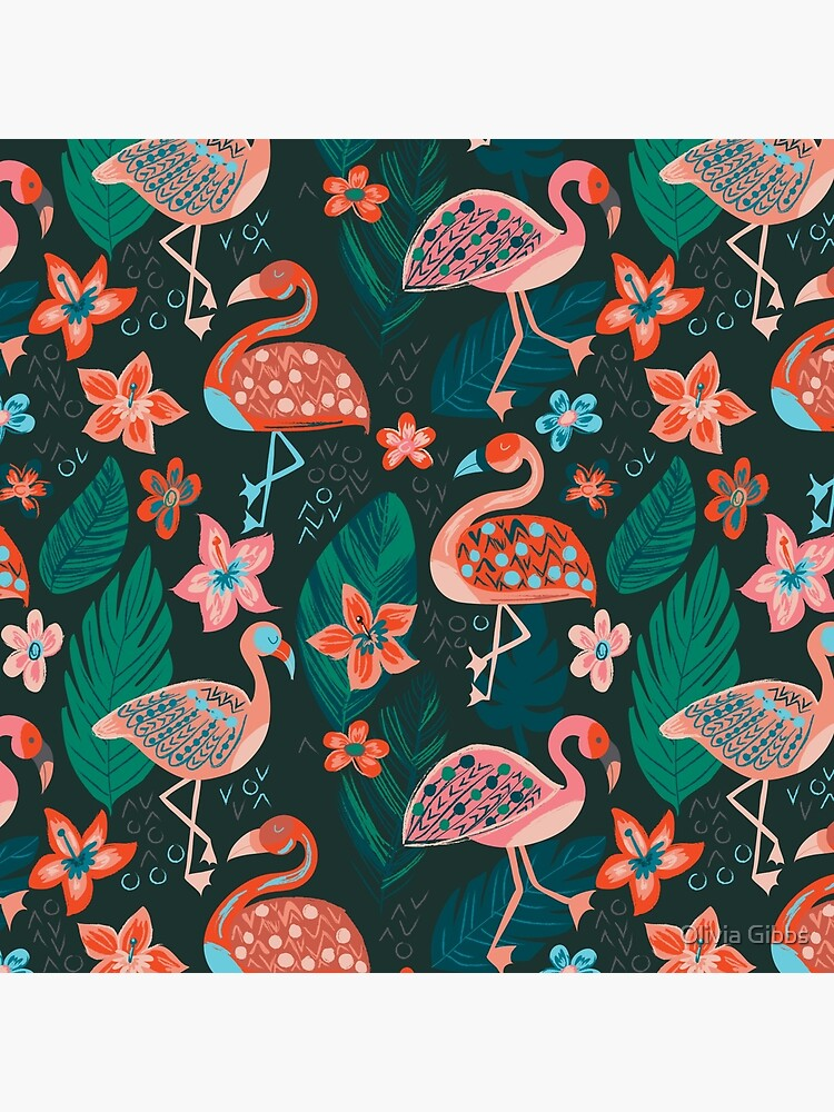 Flamingo Parade by olig