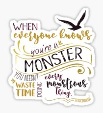 Every Monstrous Thing Sticker
