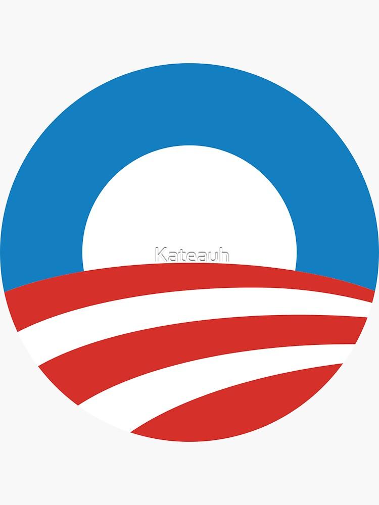 Obama-Logo von Kateauh