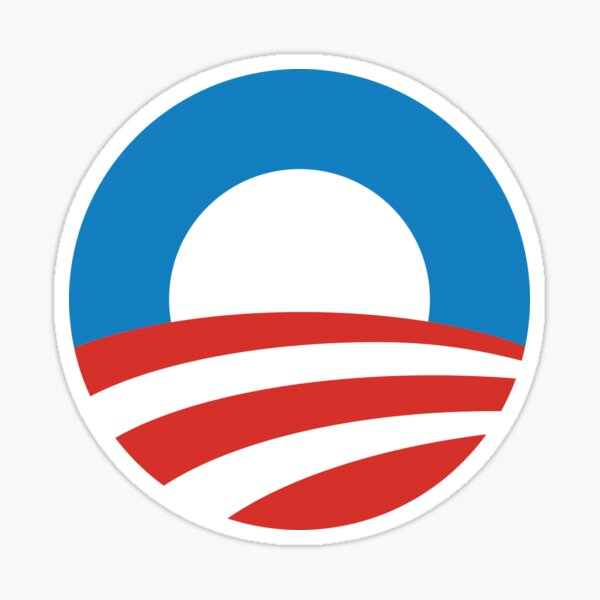 Logo d'Obama Sticker