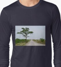 road in the African savanna T-Shirt