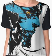 Metal Gear Rising Revengeance Artbook Raiden Women's Chiffon Top