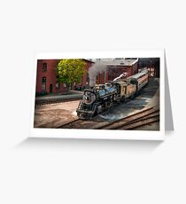 ENGINE 3254 Greeting Card