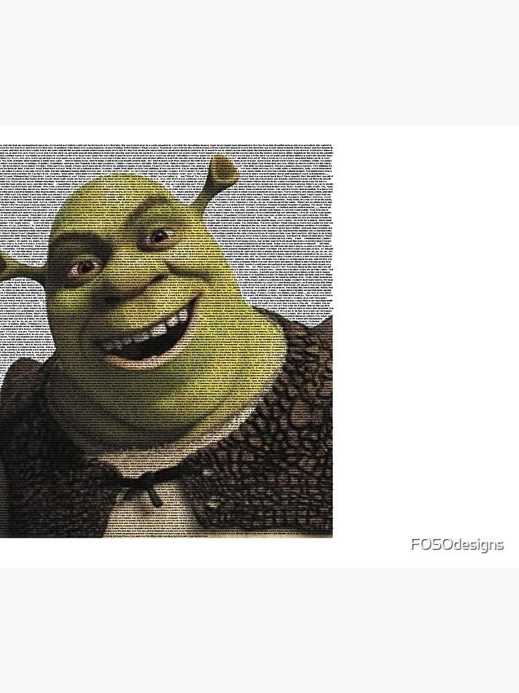 Shrek Movie Script by FOSOdesigns