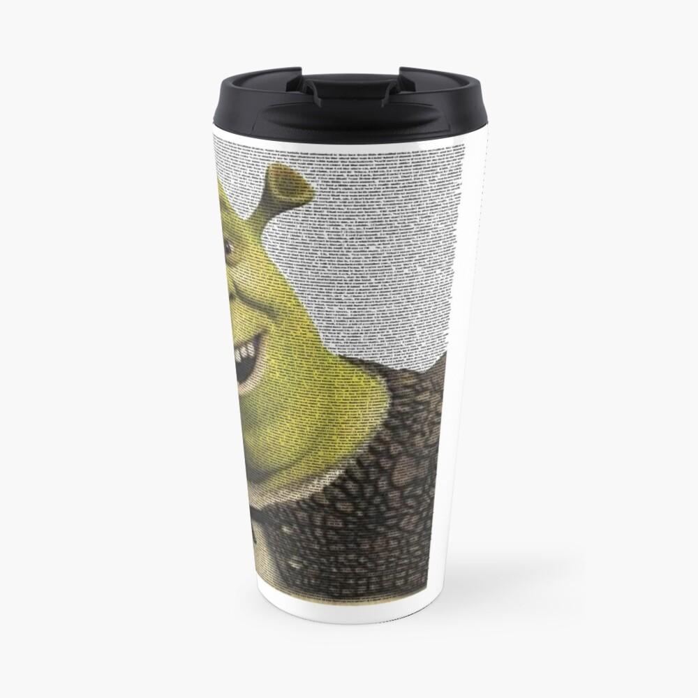 Shrek Movie Script Travel Mug