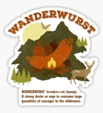 WanderWurst Sticker