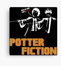 Potter Fiction - Parody Canvas Print