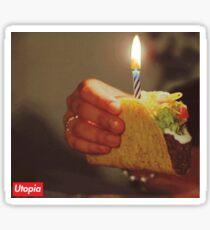 Birthday Taco - Utopia Sticker