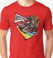 Black Mario races in Mario Kart 8 Unisex T-Shirt