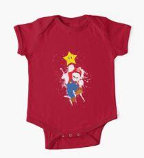 Super Mario Splattery T-Shirt One Piece - Short Sleeve