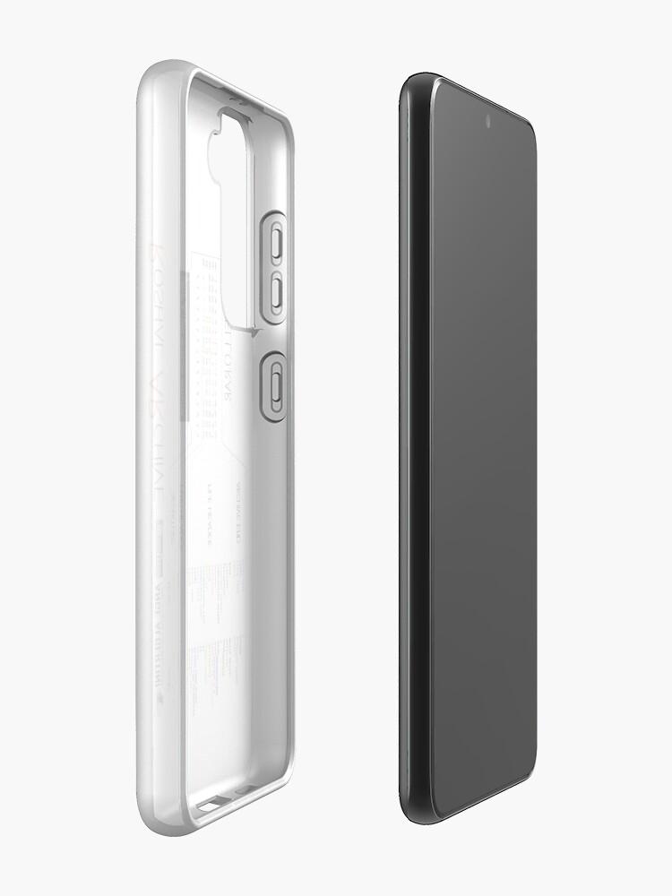 Alternate view of a mini RAR Case & Skin for Samsung Galaxy