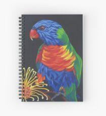Rainbow Lorikeet #3 Spiral Notebook