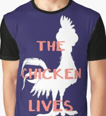 The Chicken Lives Graphic T-Shirt