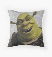 Shrek Movie Script Throw Pillow