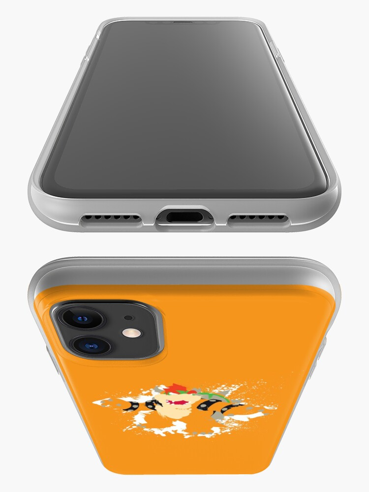 Alternate view of Bowser splattery vector T iPhone Case & Cover