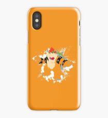 Bowser splattery vector T iPhone Case/Skin