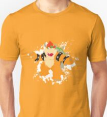 Bowser splattery vector T T-Shirt