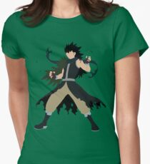Fairy Tail Gajeel Womens Fitted T-Shirt