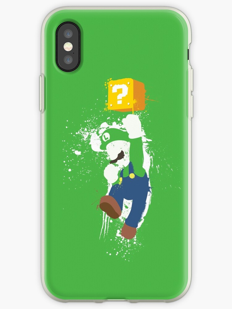 Luigi Paint Splatter Shirt by thedailyrobot