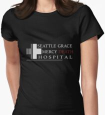 Seattle Grace Mercy Death Women's Fitted T-Shirt