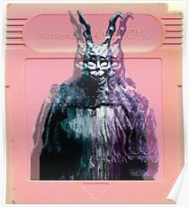 Vaporwave Donnie Darko! Poster