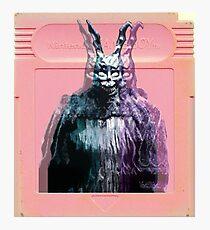 Vaporwave Donnie Darko! Photographic Print