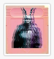 Vaporwave Donnie Darko! Sticker