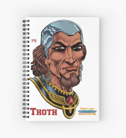 Thoth Spiral Notebook