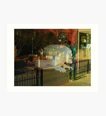 Ghost of Bisbee Art Print